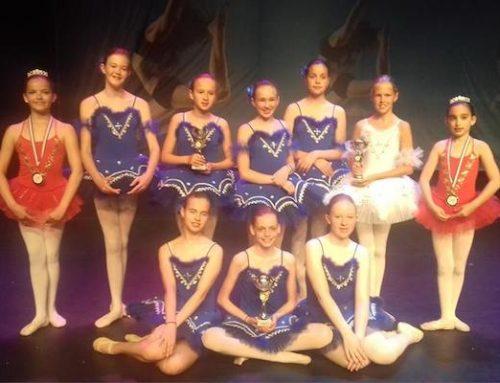 Groepen van Elena ballet in de prijzen!