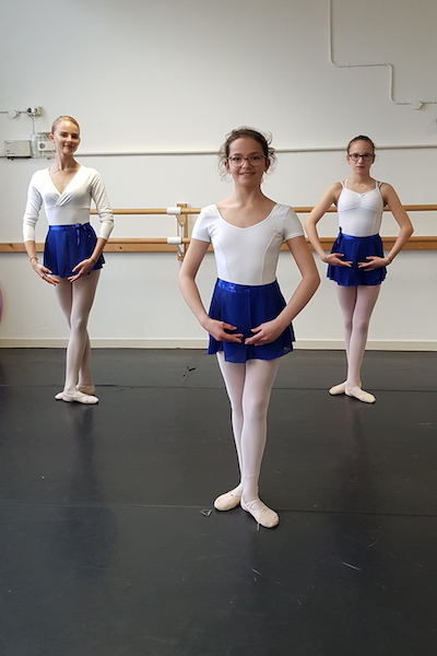 Balletkleding tieners