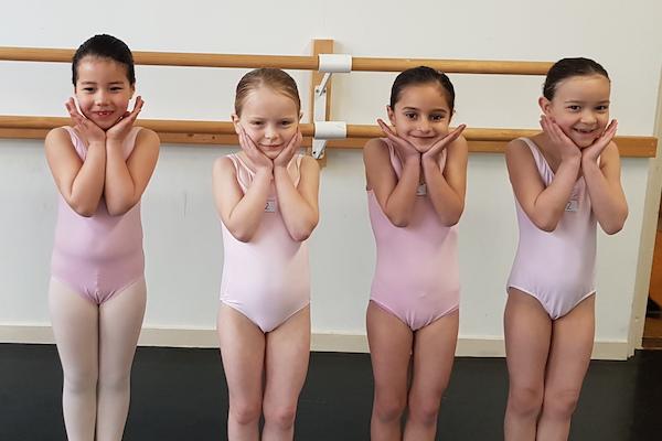 Balletles peuters en kleuters