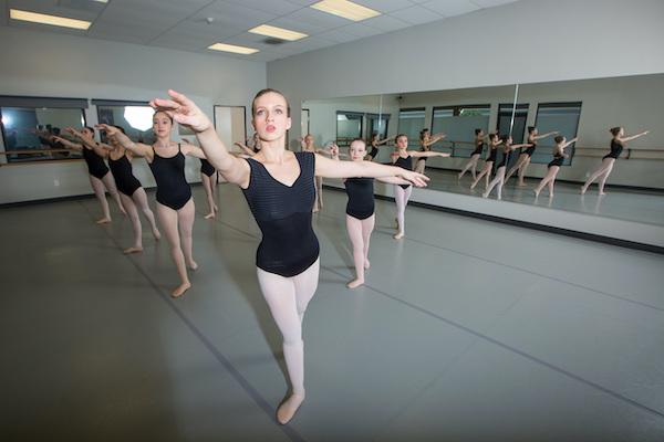 Klassiek ballet tieners en volwassenen